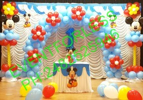 Micky theme balloon decoration